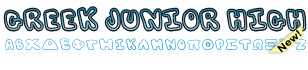 GreekFont Junior High Font
