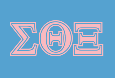 Sigma theta xi greekhouse of fonts for Theta xi letters