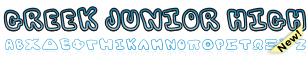 GreekFont Junior High Font