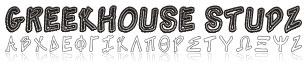 GreekFont Studz / Nailheads Font