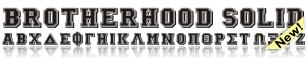 Brotherhood Solid Font