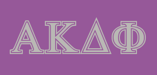 alpha kappa delta phigreek letters example using the symbolized font