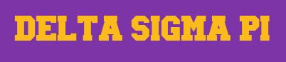 delta sigma picollegiate font