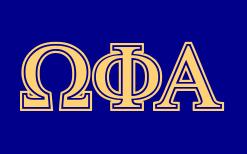 Omega Phi Alpha GreekHouse of Fonts
