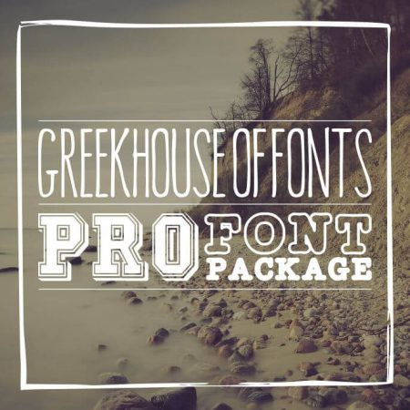 Greekhouse Pro Font Package