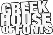 GreekHouse of Fonts