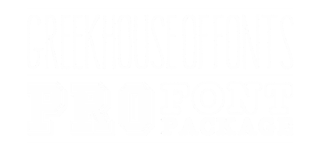 Pro Font Package