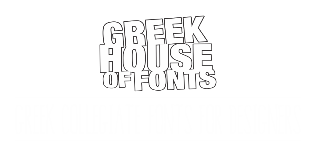 Greekhouse Fonts