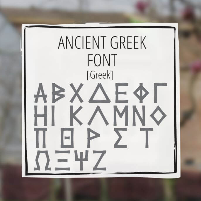Sample Lettering Ancient 2