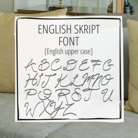 Sample Lettering English Skript 1