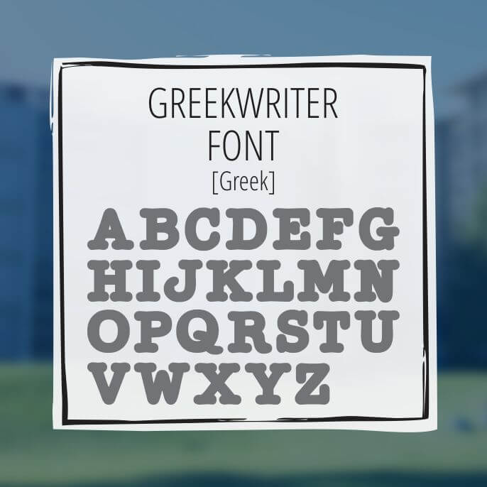 Sample Lettering Greekwriter 1