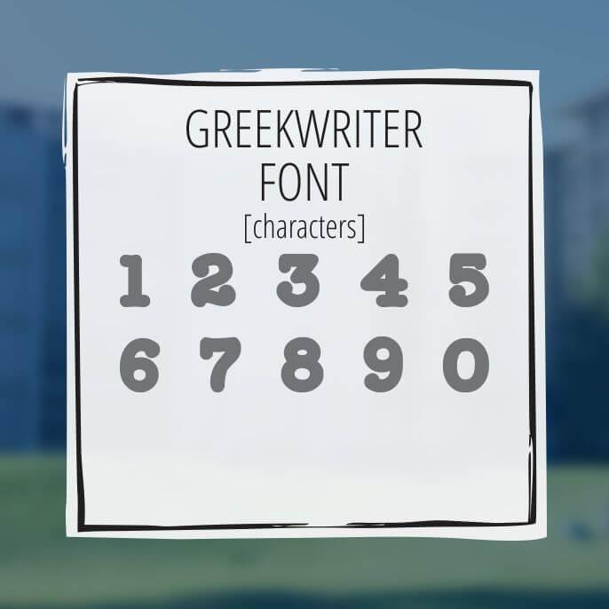 Sample Lettering Greekwriter 3