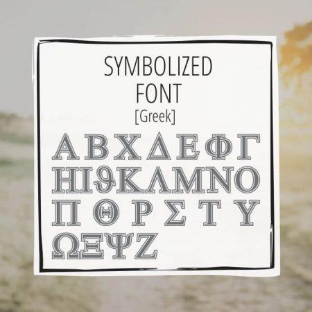 Sample Lettering Symbolized 2